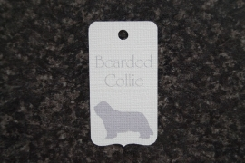 Label Bearded Collie