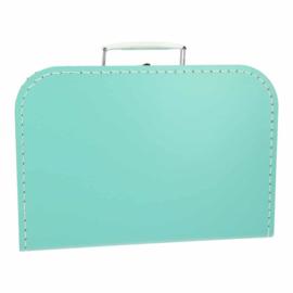 Koffertje Voetjes met naam 30 cm