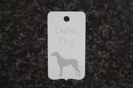 Label Duitse dog