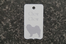 Label Chow chow
