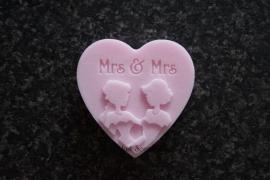 Huwelijksbedankje Mrs & Mrs