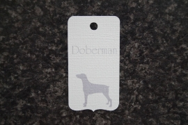 Label Doberman