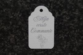 Label Mijn 1e Communie Kruis 3