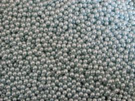 Acryl parels turquoise licht 8mm ( 20 stuks )