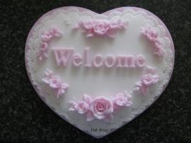 Welcome hart (groot)