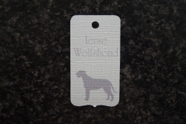 Label Ierse Wolfshond