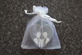 Huwelijksbedankje Mr & Mr