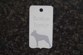 Label Boston Terrier