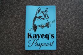 Paspoorthoesje Husky
