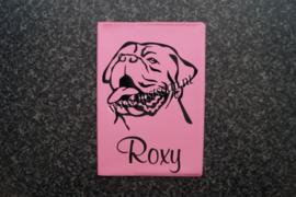 Paspoorthoesje Bordeaux Dog