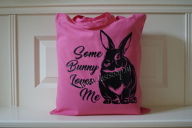 Schoudertas Some Bunny Loves me