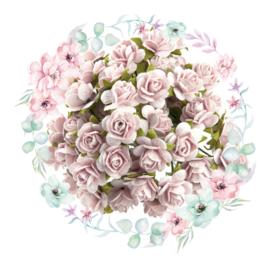 Roosjes Pale Pink 10mm Bosje van 10