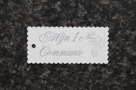 Label Mijn 1e Communie Kruis 2