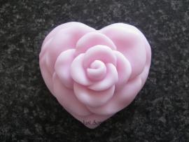 Hartvormige roos