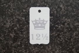 Label 12½ kroon