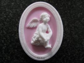 Zeepmal Zittende engel