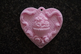 Cupcake op hart 2