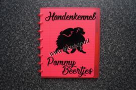 Luxe Schrift Keeshond / Pomeranian