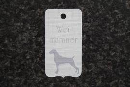 Label Weimaraner