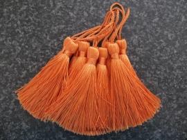 Luxe tassel Fel Oranje