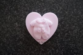Baby pakje op hart