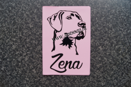 Paspoorthoesje Duitse Dog
