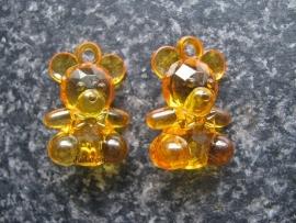 Acryl beertje Oranje