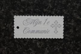 Label Mijn 1e Communie Kruis