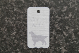 Label Gordon Setter
