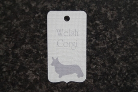 Label Welsh Corgi