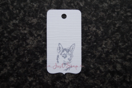 Label Noorse Lundehond