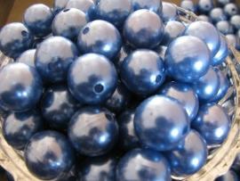 Acryl parel blauw 16mm