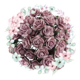 Roosjes Oud Roze 10mm Bosje van 10