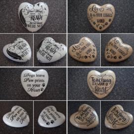 Stenen hart Gepersonaliseerd