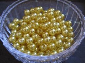 Acryl parels geel 10mm