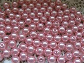 Acryl parels roze 2 10mm