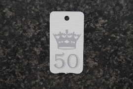 Label 50 kroon