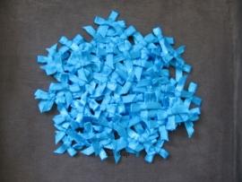 Strikjes Turquoise
