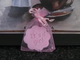 Geboorte Bedankje Bloemetje It's a Girl