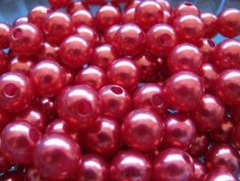 Acryl parels rood 10mm