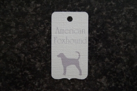 Label American Foxhound