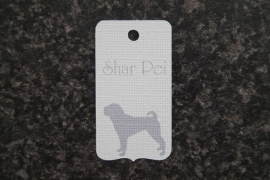 Label Shar pei