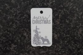 Merry Christmas Schapendoes (10 stuks)