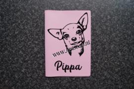 Paspoorthoesje Chihuahua 3