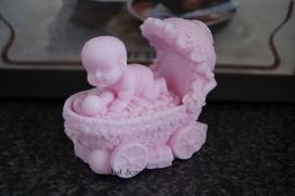 Kinderwagen met baby 2