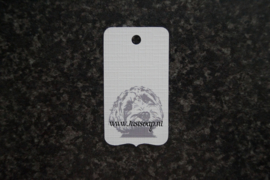 Label Labradoodle hoofd
