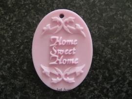 Home sweet home ovaal 2