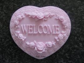 Welcome hart (klein)