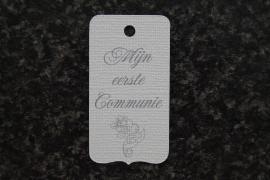 Label Mijn eerste Communie Kruis 2