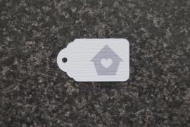 Label Vogelhuisje